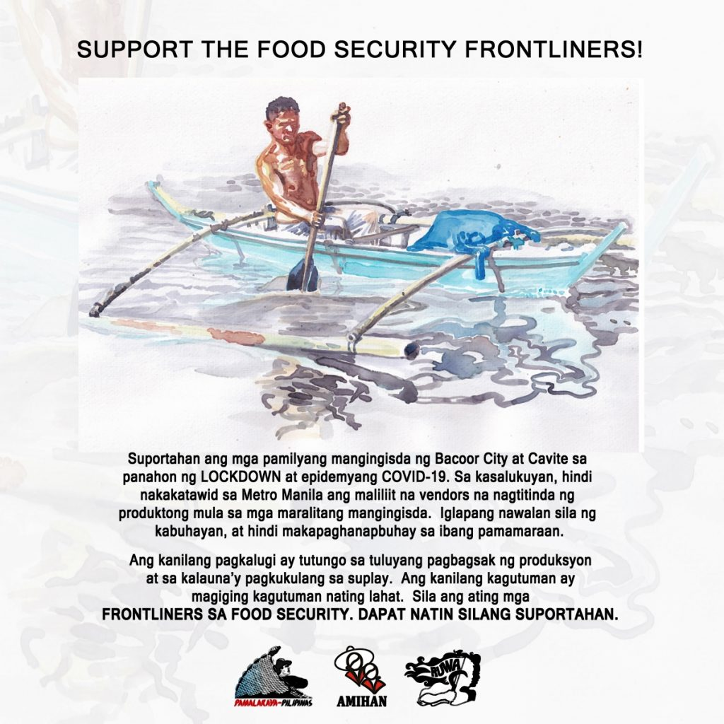 Support the Food Security Frontliners!